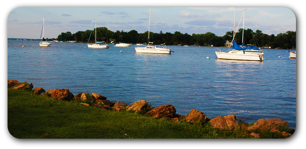 boats on Lake Minnetonka