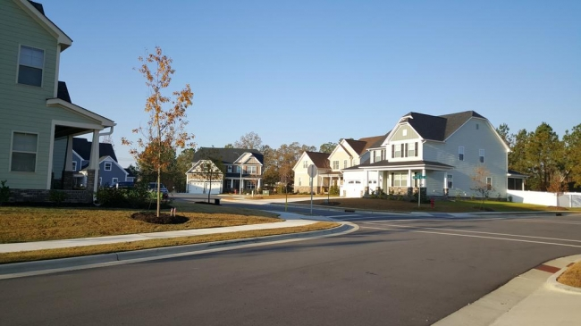 Knightdale Station Street & Homes